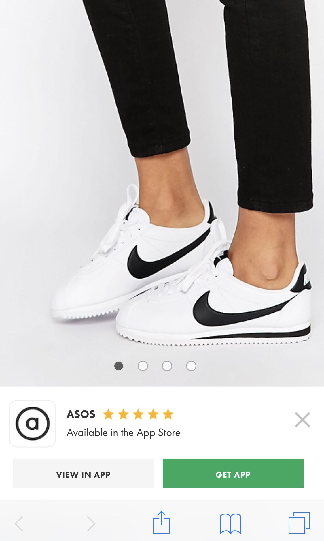 check out c7b95 e9246 Nike Cortez leather sneakers Trainers, Women's Fashion ...