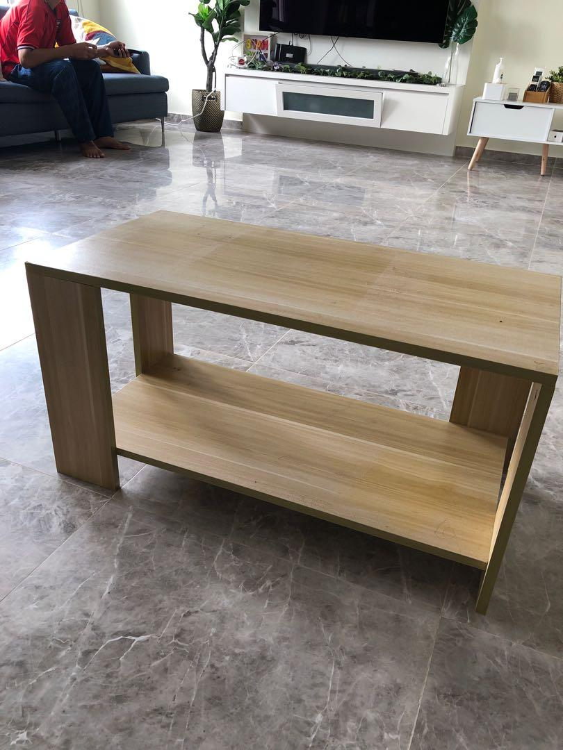 Oak Coffee Table Furniture Tables