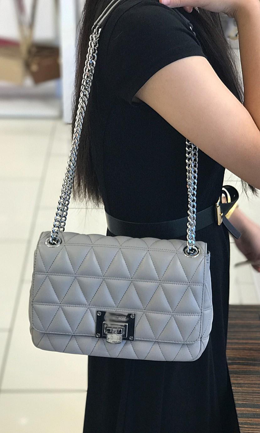 01ac19398d47 Michael Kors Vivianne Medium Shoulder Flap Bag ☆AUTHENTIC☆, Women's  Fashion, Bags & Wallets, Sling Bags on Carousell