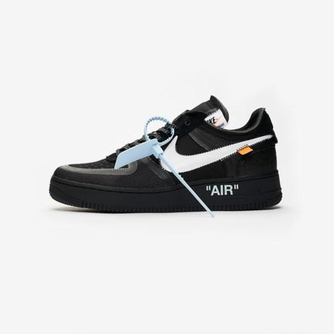 new style 0abd0 d356e PO  Nike Air Force 1 Low X Virgil Abloh OFF-WHITE - Black   White ...