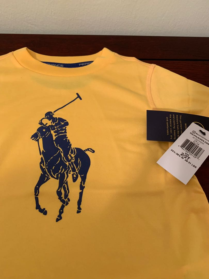 0d951476 Polo Ralph Lauren - Performance Ts, Babies & Kids, Boys' Apparel, 1 to 3  Years on Carousell