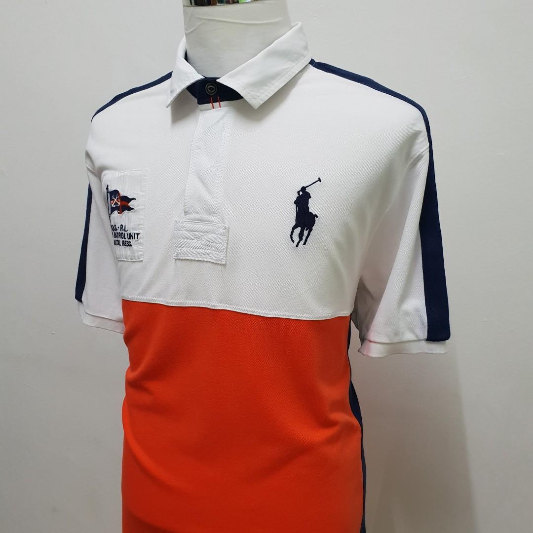 a277f3ef Polo Ralph Lauren US-RL Rugby Shirt Custom Fit Size XL, Men's ...