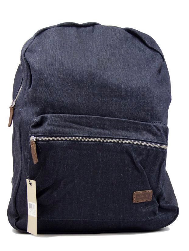 bbbece0e5 pre-owned LEVI'S DENIM CANVAS RETRO 70S INDIE BACKPACK BAG , Men's ...