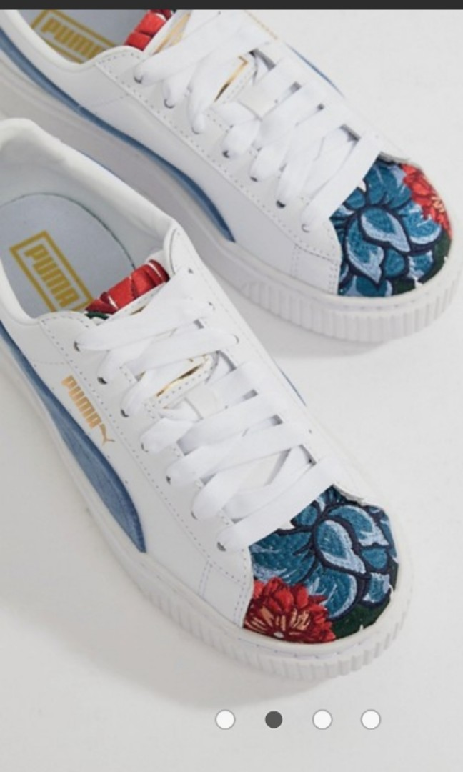 f0746be31aa REDUCED PRICE Puma platform hyper embroidered sneakers EU37
