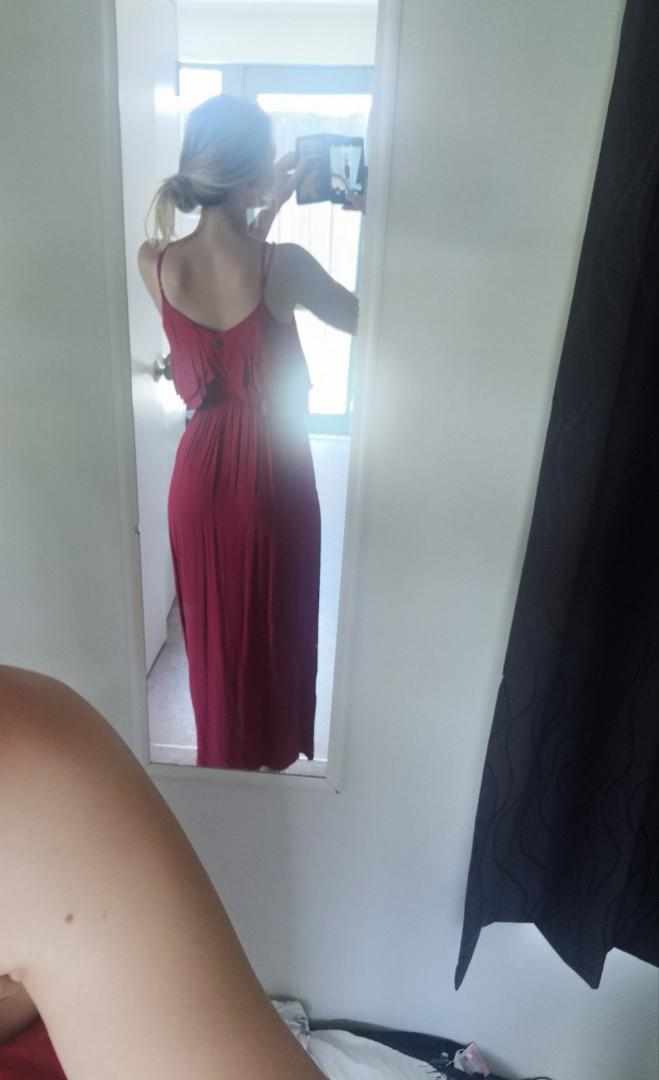 Red Dress Ripcurl Size 10