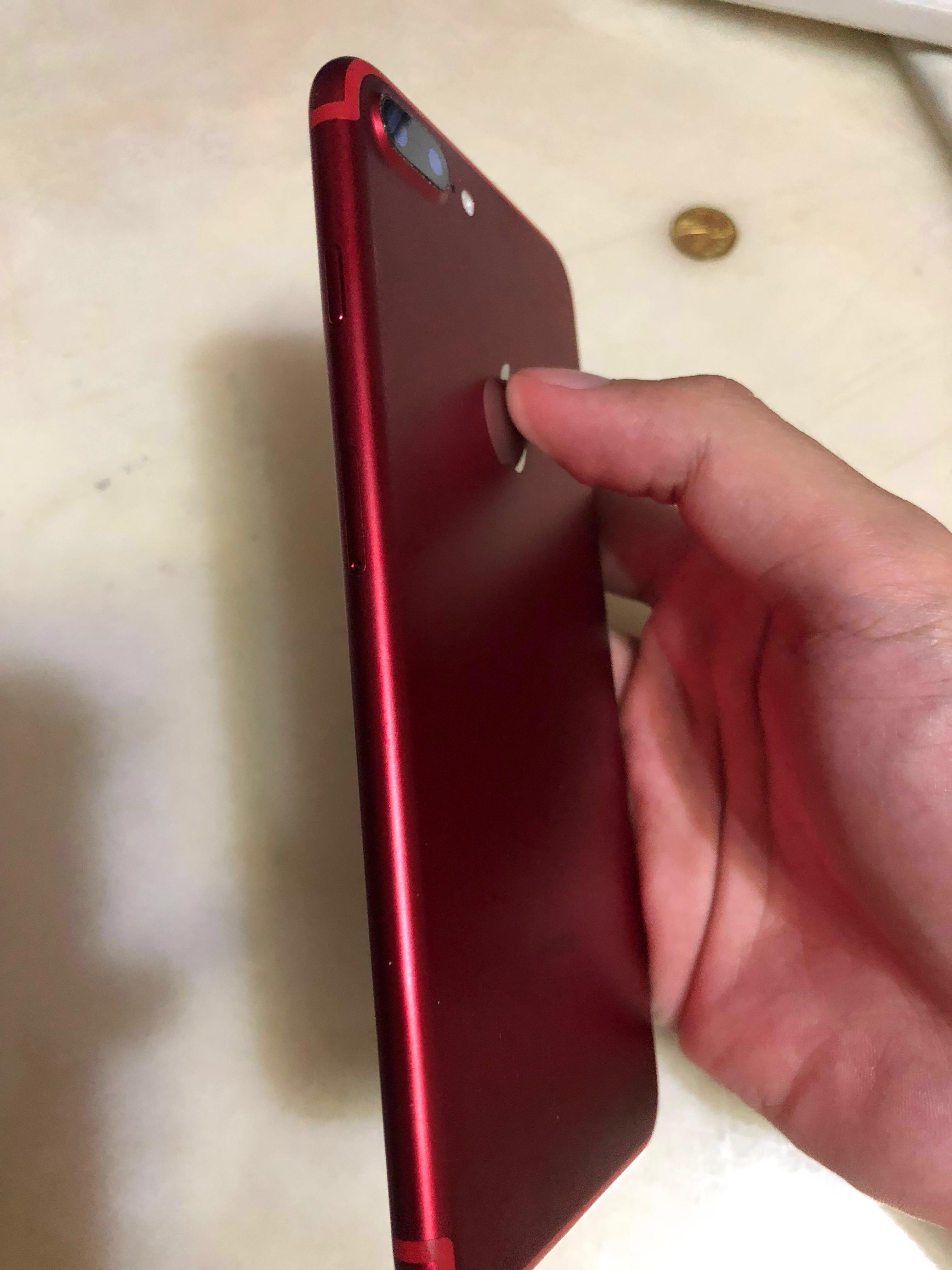 RED IPHONE 7 PLUS 128GB (RED), Mobile Phones & Tablets