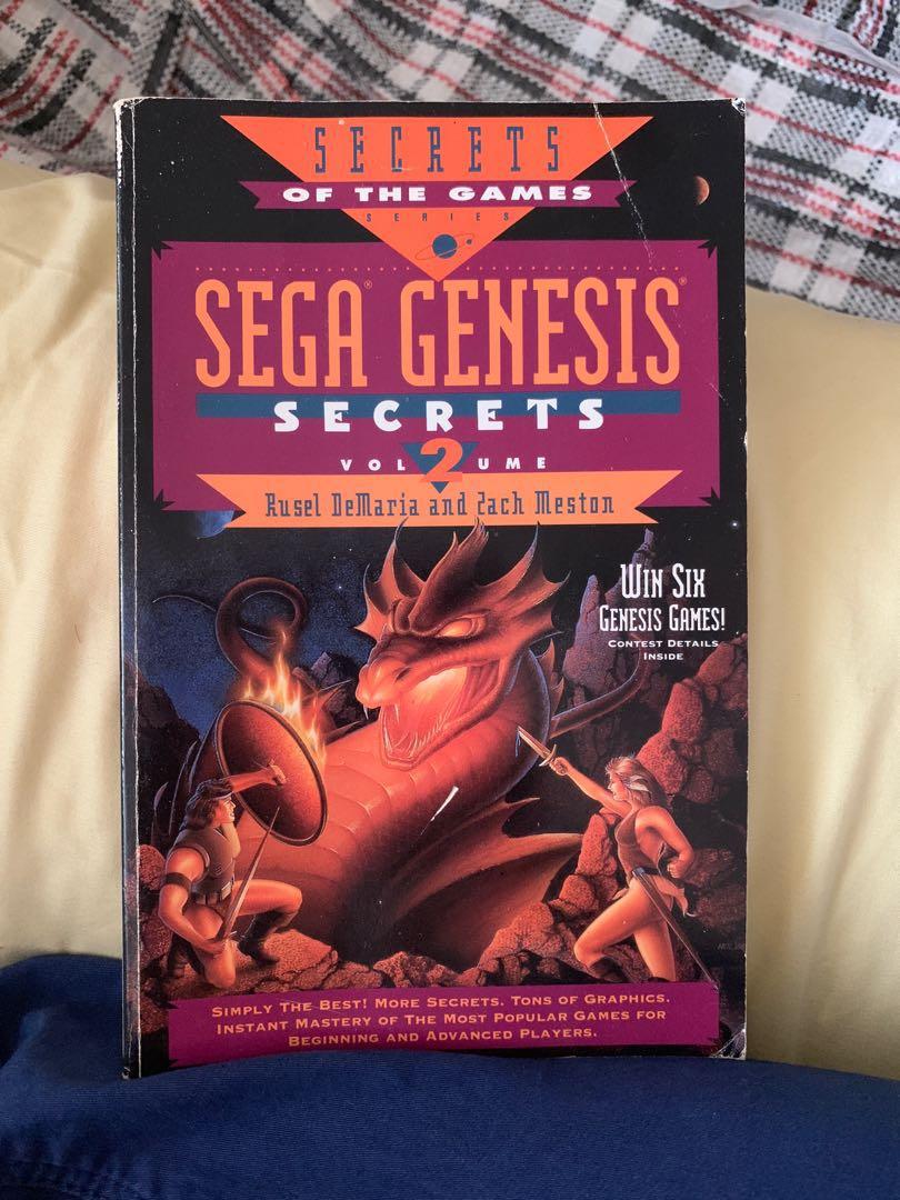 Sega genesis secrets volume 2 book
