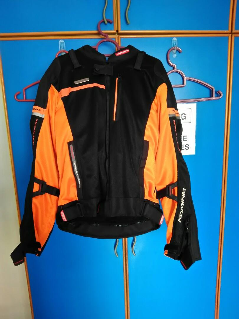 Selling good as new Komine mesh riding jacket