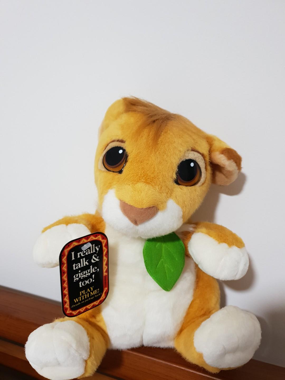 Simba Lion King Stuffed Toy Toys Games Stuffed Toys On Carousell