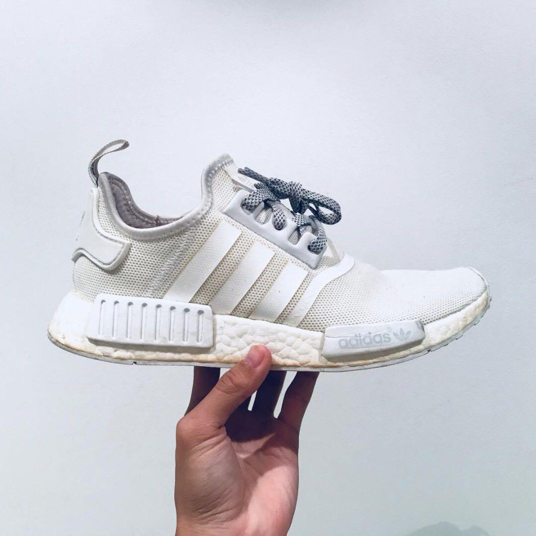 Steal Adidas Nmd R1 Triple White Reflective Men S Fashion