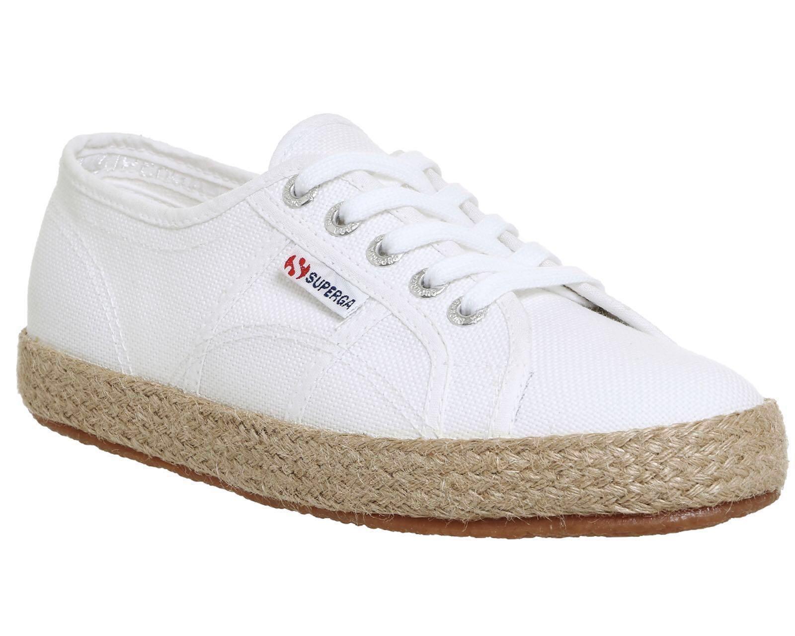 b2b8bc596 Superga 2750 Espadrille - White, Women's Fashion, Shoes, Sneakers on  Carousell