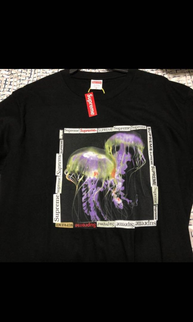 ae47ec8b75cd Supreme jellyfish tee, Men's Fashion, Clothes, Tops on Carousell