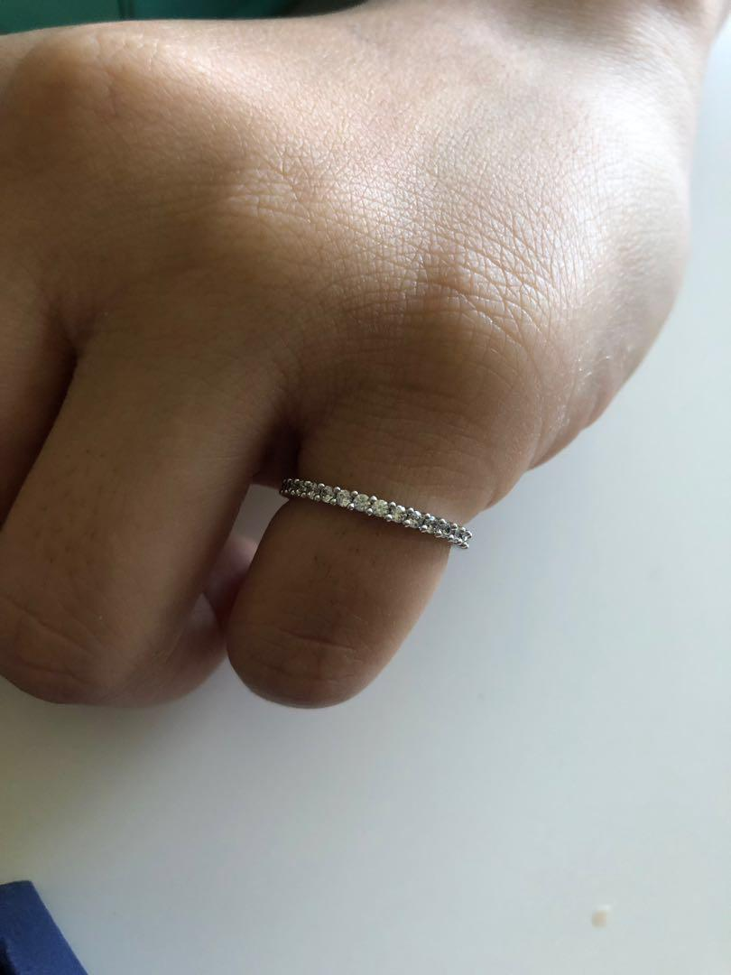 Swarovski Hair Pin & Ring