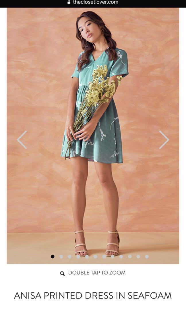 99390538bbfa TCL ANISA PRINTED DRESS IN SEAFOAM, Women's Fashion, Clothes ...