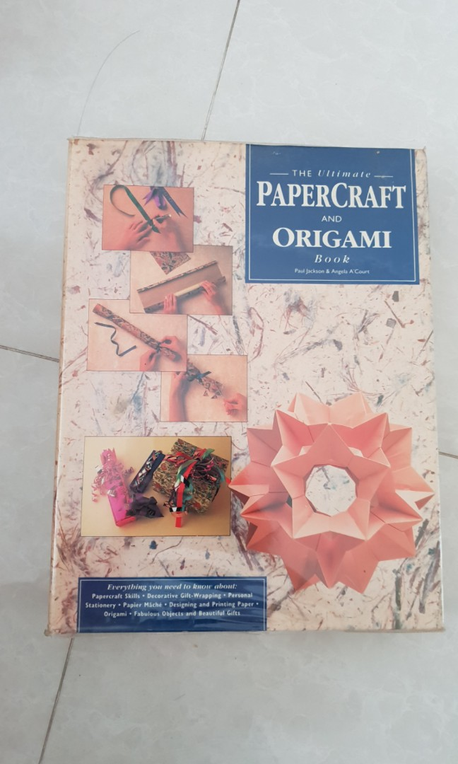 The ultimate paper craft and origami book