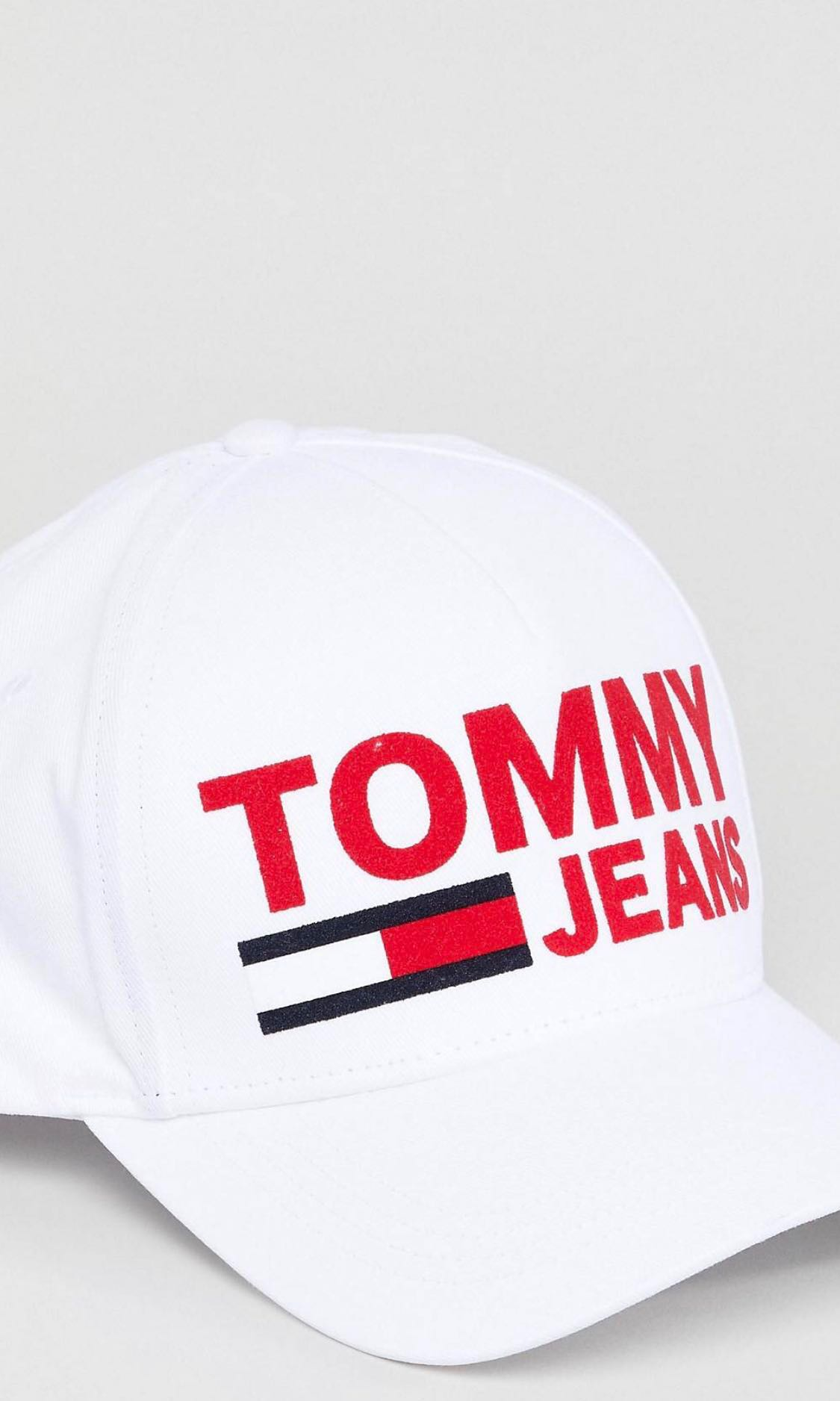 32a9c480 Tommy Jeans Cap in White, Men's Fashion, Accessories, Caps & Hats on ...