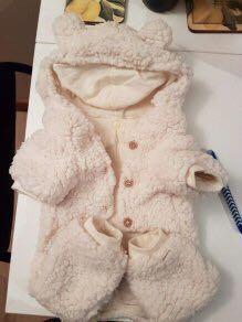 UGG furry Sherpa dog coat