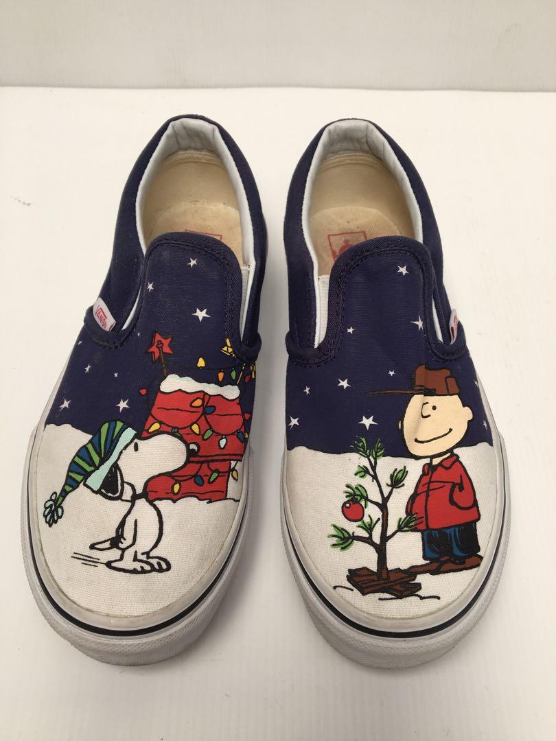 6d5a633a34 VANS Snoopy shoes size 34
