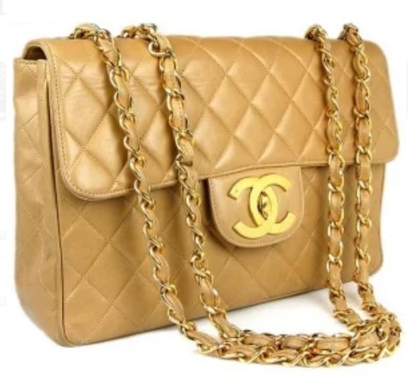 f4929dcb4729 Vintage Chanel Jumbo, Luxury, Bags & Wallets, Handbags on Carousell