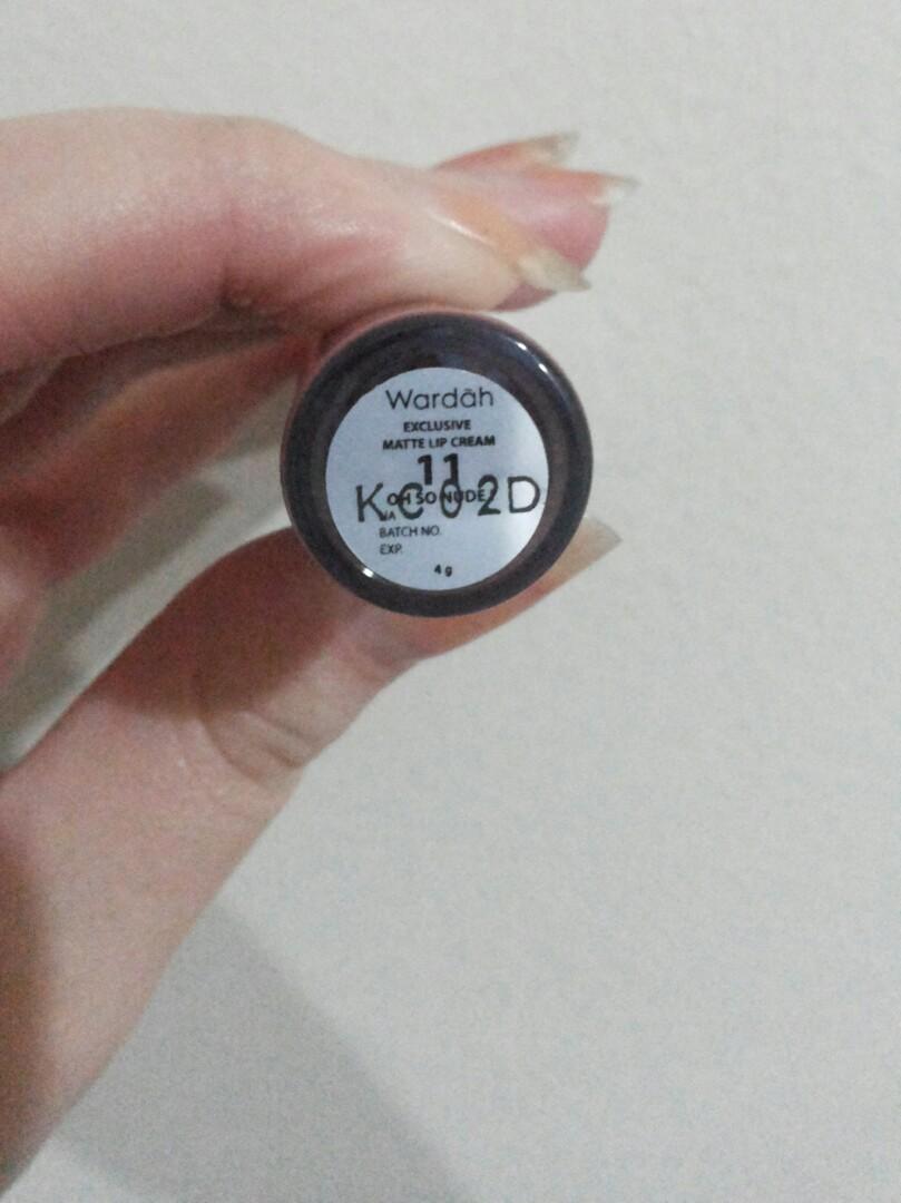 Wardah Matte Lip Cream