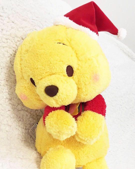 Winnie The Pooh & You - Japan Special Christmas Plushy