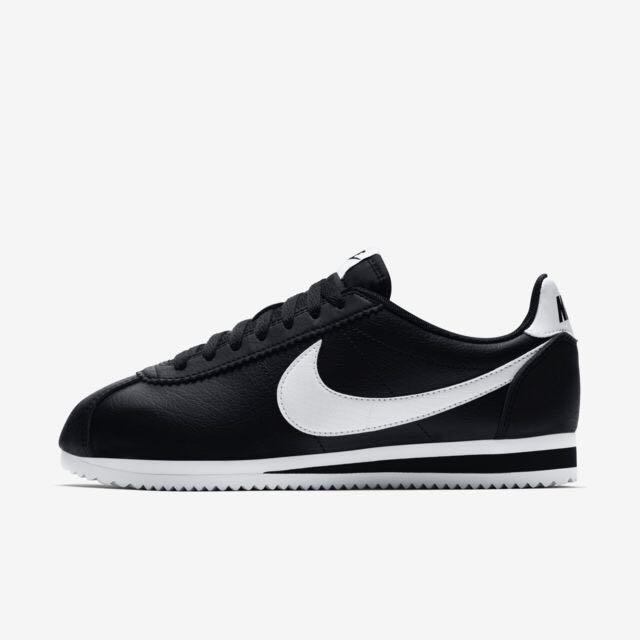 Classic Nike Cortez Leather in Black
