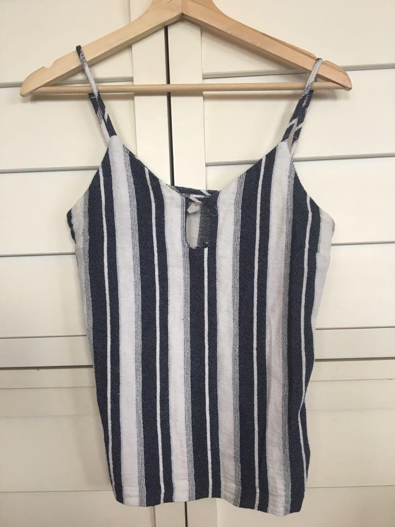 Women's striped top , beach vibe