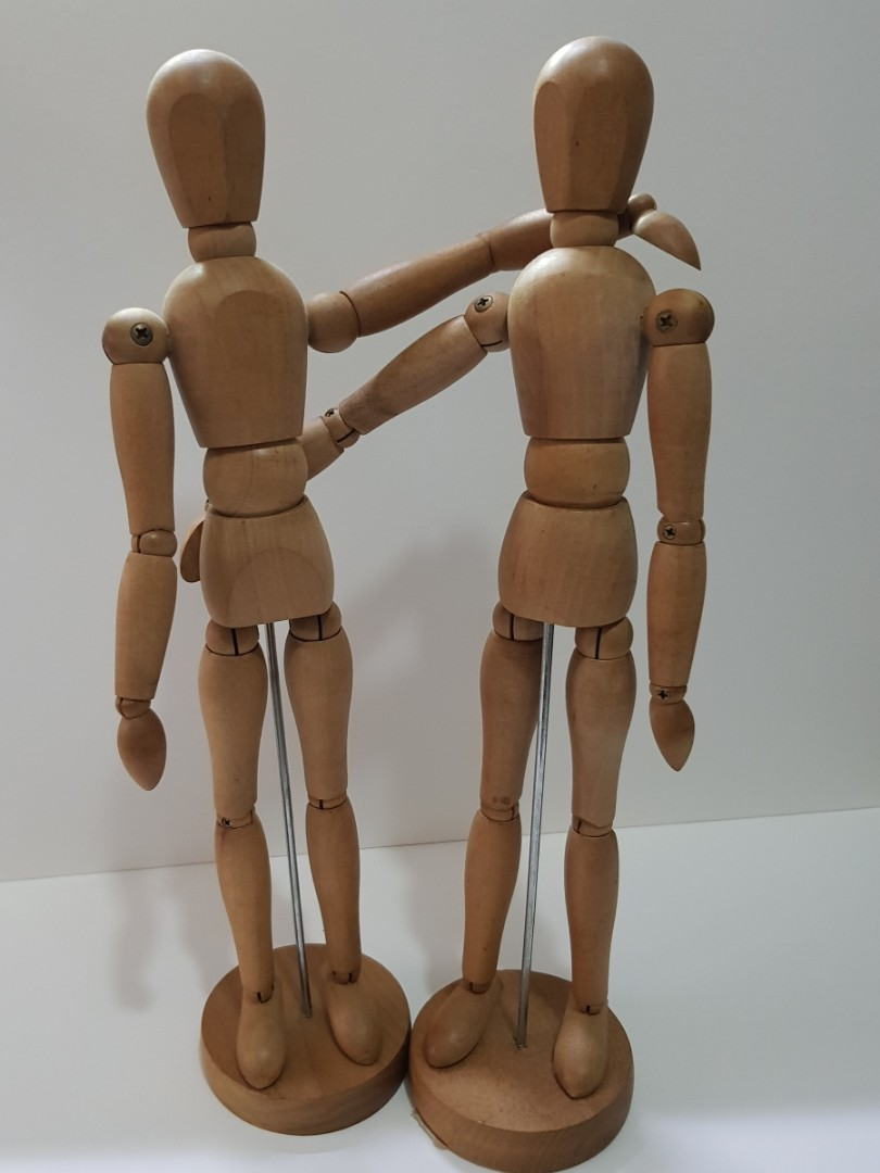 Wooden Drawing Mannequin