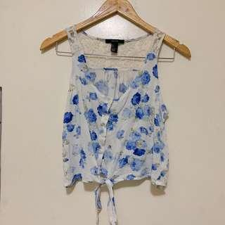 F21 Sleeveless blouse