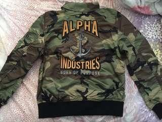 Alpha Industries 迷彩褸 全新 快放