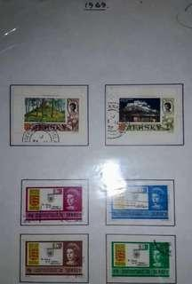 1960 JERSEY STAMPS
