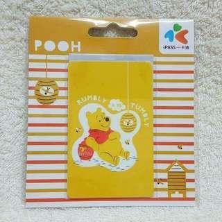 售台灣 Winnie the Pooh 一卡通