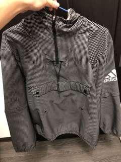 🚚 Adidas 衝鋒衣風衣 可拆式