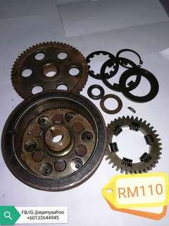 Magnet 1 set Modenas Jaguh Orimoto + One way bearing