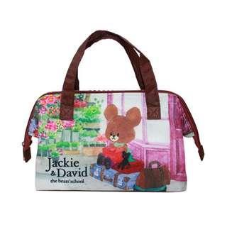 日本正版 The Bears School 小熊學校 Jackie 保溫保泠 手袋 手提包 飯盒袋