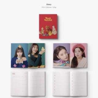 red velvet diary - 2019 season greetings