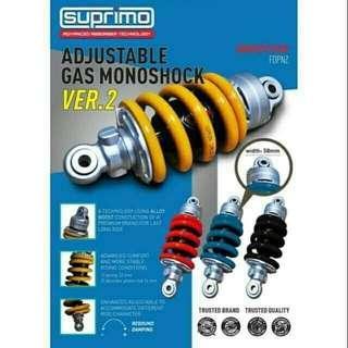 V.2 SUPRIMO MONO GAS ADJUSTABLE Y15Z & 135 LC
