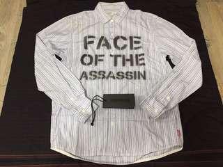 Neighborhood shirt F.O.A ls size S BL wtaps mmj sophnet