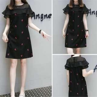 Pre-Order/ Plus Size/ CNY 2019/ Flora Dress/ M to 5XL