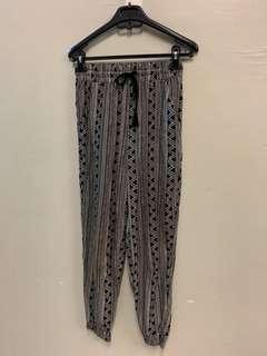 Harem Pants printed ladies pants forever 21