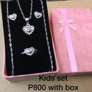 925 silver sets for kids