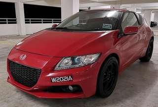 Honda crz hybrid s plus