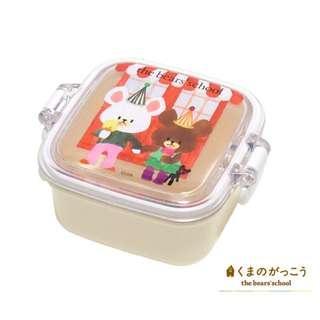 日本正版 The Bears School 小熊學校 Jackie 迷你 零食盒 餅乾盒 食物盒
