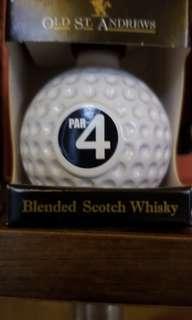 全新高爾夫球 酒版