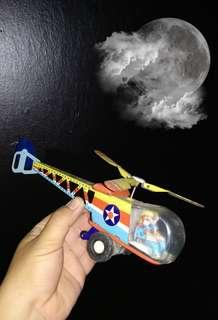 Tin Toy Helicopter