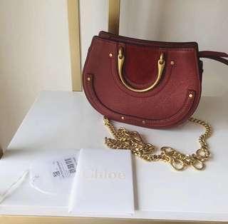 Chloe pixie mini bag red small 手袋