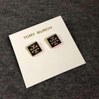 Tory Burch Earrings Square Black 黑色正方形耳環