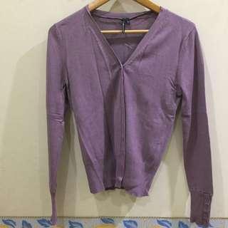 Glassons Light Purple Cardigan #xmas25
