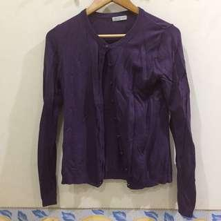 Romp Purple Cardigan #xmas25