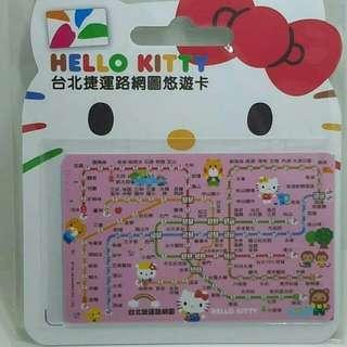 售台灣kitty 悠遊卡